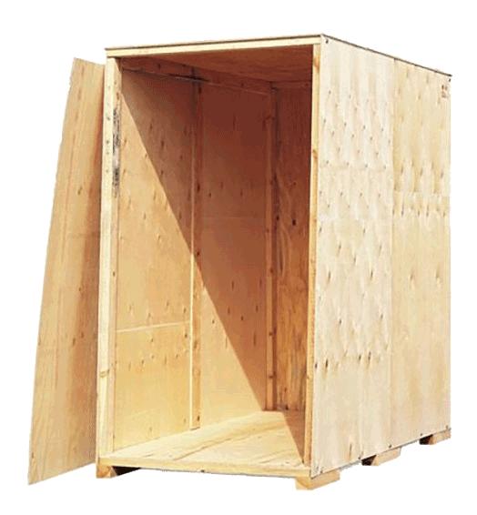 Holzbox zur Einlagerung