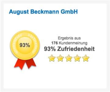 Kunden-Zufriedenheit: 93%